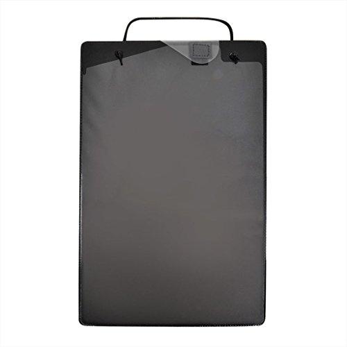 PROPLUS Werkstattauftragstaschen 10er Pack Schwarz Black Schlüsselfach DIN A4 Werkstatt Auftragstaschen Taschen Auftrag Schlüssel Fach Werkstattauftrag Reparatur Mappe
