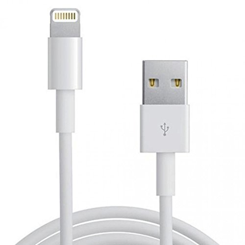 Generic Ios 7 Compatible Data Sync Charging Cable For Apple Iphone 5 5S 6 - White