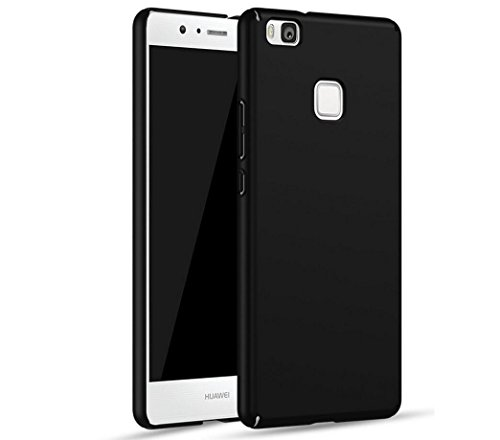 Huawei P9 Lite Custodia,Slim Ultra Thin Cover Custodia per Huawei P9 Lite Smartphone (Nero)