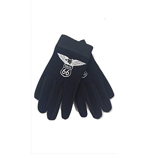Motorrad-Handschuhe, Motiv: Adler / Route (Adler Handschuhe)