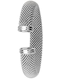 SILVER RH PLATED BANGLE Weight: 26.30 gm(s)