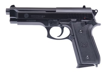 Softair-Pistole Taurus PT92 Power Serie unter 0,5 Joule ab 14 Jahre schwarz ca. 21,4 cm 6 mm Federdruck Kinder-Pistole (Für Kostüme Power Rangers Frauen)