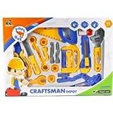 Bubble Hut Repair Tool Set Craftsman Simulation Kids/Children Pretend To Play Toy Best Gift