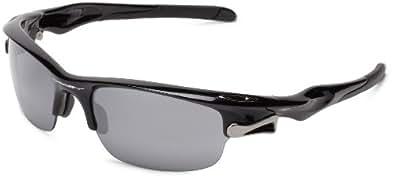 Oakley Fast Jacket Lunettes Polished Black/Black Iridium