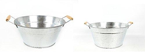 set-of-2-large-galvanized-metal-beer-and-wine-bucket-chillers-by-temerity-jones