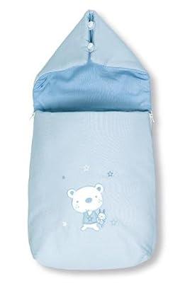 Pirulos-Sacos Recien Nacidos-Colección Osito Star (Azul)
