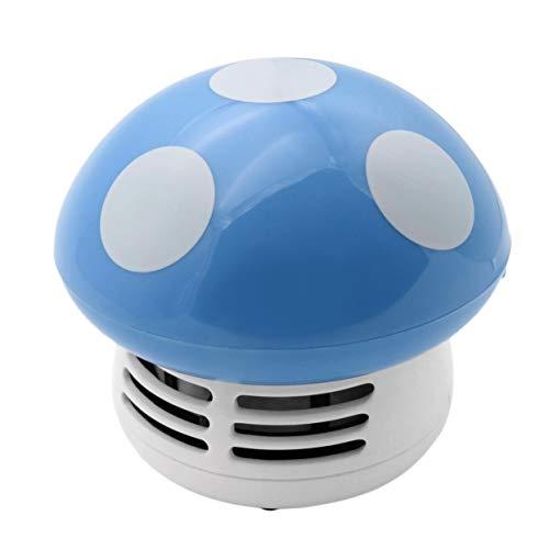 Mini Mushroom Desk Cleaner Aspiradora Linda Portable Corner Desk Table Sweeper Colector de Polvo para El Coche Ordenador En Casa