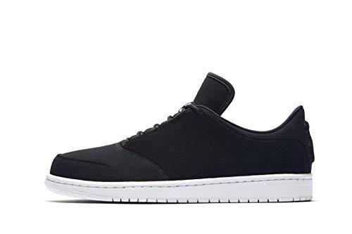 Nike Jordan 1 Flight 5 Low - Scarpe da Uomo, Multicolore (Black White 010), 44 EU