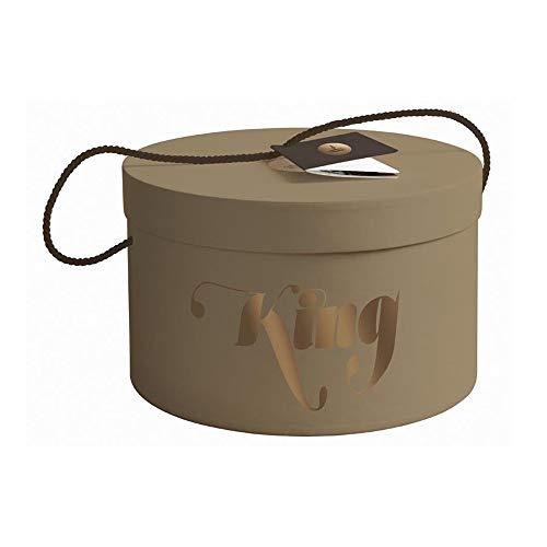 Panettone king artigianale siciliano 1kg in scatola cappello