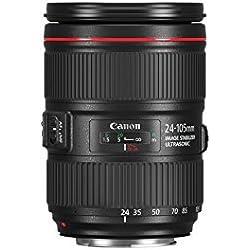 Canon EF 24-105 mm f/4L is II USM Objectif - Noir (certifié reconditionné)