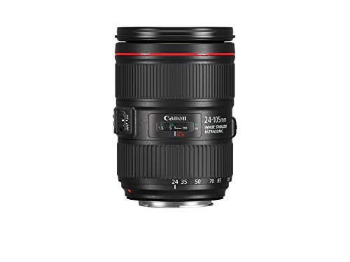 Canon EF 24-105 mm f/4L is II USM Objektiv - Schwarz (Generalüberholt) (Canon F 4l)