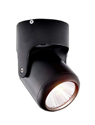 XIHOME Loft LED Wandleuchte, Up Down Wandlampe im modern Stil GU10 bis max. 60W 230V, Deckenleuchte, Deckenlampe, LED Strahler, Spot, Wohnzimmerlampe, Deckenstrahler, Wandstrahler, Deckenspot,Schwarz -