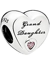 Pandora Women Silver Bead Charm - 796261PCZ