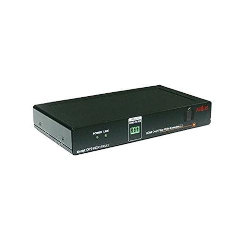 ABTUS récepteur HDMI sur fibre plastique max. 600m
