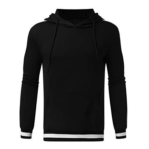 LIMITA Herren Langarm Herbst Winter Hoodies Beiläufige Sweatshirt-Kapuzenpullis Top Bluse Trainingsanzüge Herren Freizeitpullover