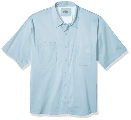 Dickies Herren Performance Cooling Woven Shirt Big-Tall Work Utility Hemd, cool Blue, 3X