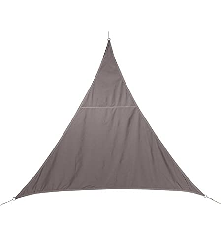 Voile D'ombrage Taupe - Toile solaire Voile d'ombrage triangulaire 4 x