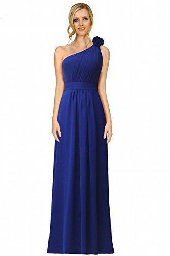 SEXYHER una spalla che increspa Style Bridesmaids formale pavimento-lunghezza abito
