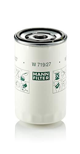 Original MANN-FILTER Ölfilter W 719/27 - Für PKW und Nutzfahrzeuge