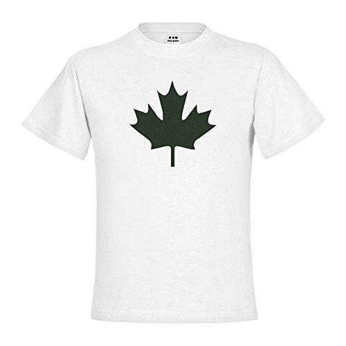 nder T-Shirt Kanada Ahorn 20drp15t-kt00033-80 Textil white / Motiv moosgruen Gr. 152/164 (80 Kostüme Für Kanada)