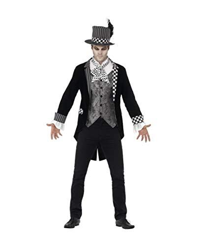 Kostüm Hatter Dark - Horror-Shop Dark Hatter Halloween Kostüm Deluxe XL