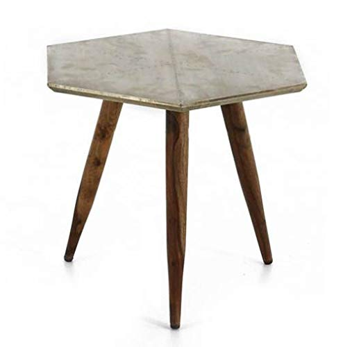 Table basse en bois de rose d'Inde