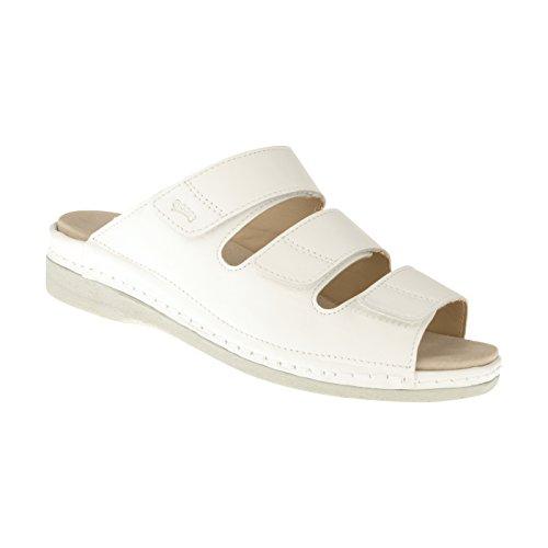 tessamino Damen Orthopädie Sandalen aus Leder | Weite H | für Einlagen Damen Diabetiker-sandalen