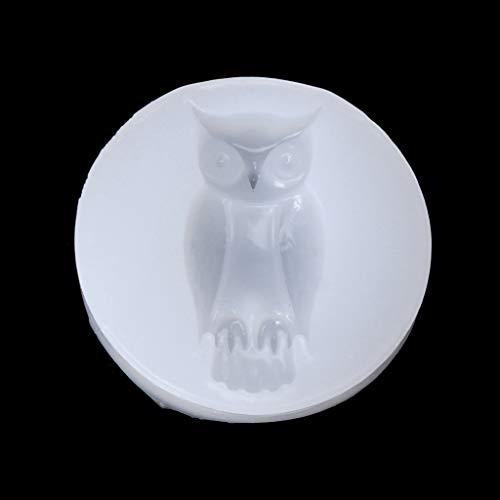 deendeng-UK Halloween-Fledermaus-Eule, Spinne, Skelett, Hand, Silikon, DIY Schmuck, Kuchen Harz, Werkzeug 2
