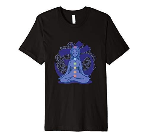 Chakra Joga Übungen Beruhigung Seele Körper T-Shirt