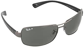 Ray-Ban RB 3379 64 004/58 Rb 3379 Rectangular Polarized