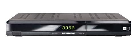 Kathrein UFS 932sw/HD+ HDTV DVB-S-Receiver (CI+ Schnittstelle (inkl. freigeschalteter HD+ Smartcard für 1 Jahr) und USB-Anschluss)