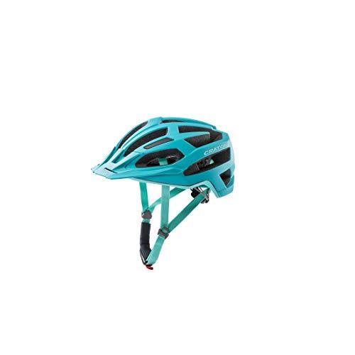 Cratoni Fahrradhelm C-Flash (MTB) Gr. S/M (53-56cm) türkis/blau matt (1 Stück)