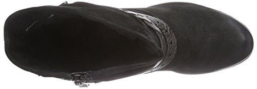 Marco Tozzi Premio 25421, Bottes femme Noir - Schwarz (Black Ant.Comb 096)
