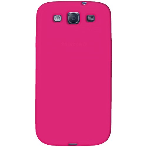 Amzer AMZ93958 Skin Jelly Case for Samsung Galaxy S3 Neo and S III GT-I9300 (Hot Pink)  available at amazon for Rs.224