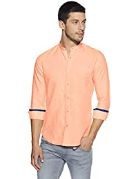 KILLER Men's Solid Slim Fit Casual Shirt