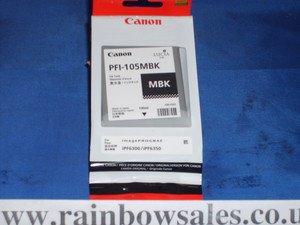 Canon 2999B005AA - Pigment Ink Tank - Matte Black 130ml Pigment Ink Tank