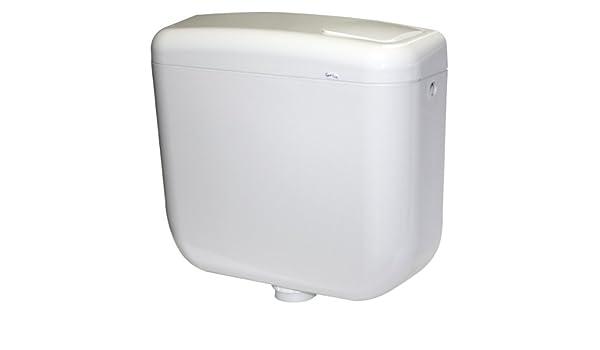 Cassetta alta in porcellana scarico ceramica vaso wc bianca