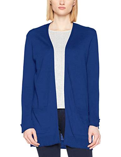 ESPRIT Damen 127EE1I025 Strickjacke, Blau (Bright Blue 410), Small