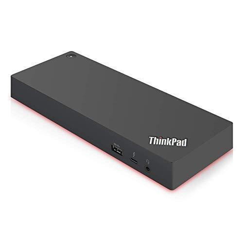 Lenovo TP TB3 Dock 135W 40AN0135EU Interno Negro unidad de disco óptico