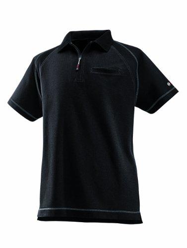 Bosch Professional Polo-Shirt WPSI 09, Gr. XL, schwarz (Piqué-polo Reißverschluss)