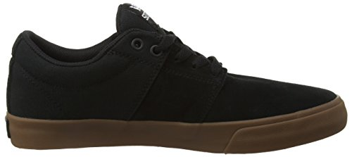Supra Stacks Vulc Ii, Sneakers Basses mixte adulte Noir (BLACK - GUM BGU)