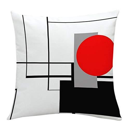 Weiche Kissen Kissenbezüge Bedrucken Platz Dekorative Kissenhülle in Verschiedene Muster Kreative geometrische 45x45 cm By Vovotrade -