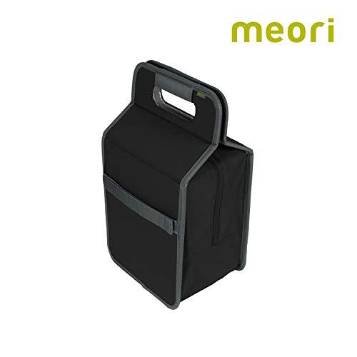 Faltbare Kühltasche/Lunchbox Lava Black 23x15,5x40cm abwischbar stabil Polyester Pausenbrot Transport Picknick Wochenende Reise Proviant