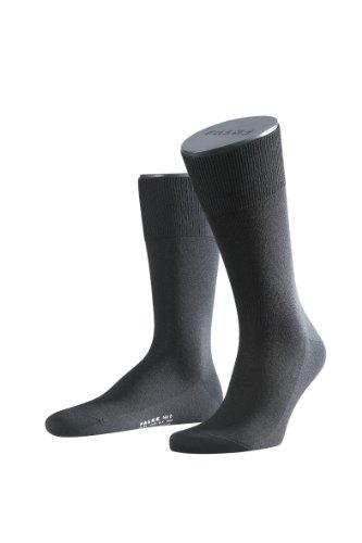 FALKE Herren Socken 14451 Luxury Line No. 6 SO, Gr. 39/40, Schwarz (black 3000)