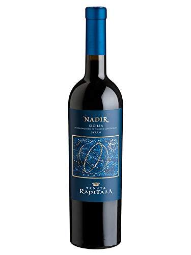 NADIR Syrah Sicilia DOC - Tenuta Rapitalà - Vino rosso fermo 2017 - Bottiglia 750 ml