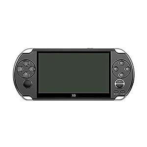 Hwenli Retro Video-Spiele-Konsole, Handheld-Spielkonsole Für Kinder Erwachsene Für PSP VIAT Retro Games 5,0-Zoll…