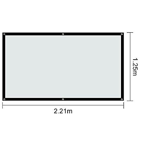 Ecran Video Projecteur - AllRight Écran De Projection Portable 16:9 Blanc