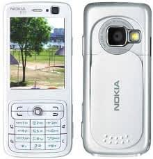 Replacement White Housing Body Panel For Nokia N73