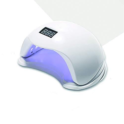 BETTERM UV Lampe für Gelnägel, 48W Nageltrockner LED/UV Lampe, 10s/30s/60s Timer, 99s Niedriger Hitze- und Schmerzloser Modus, Abnehmbarer Magnet-Platte, LED-Anzeige, Geeignet für alle Gel -