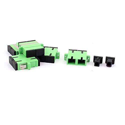 sourcingmap® 5 Stück SM SC-SC-UPC Duplex LWL Kupplungen Flansch Adapter LWL-Anschlüsse de -